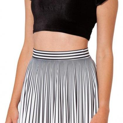 White color summer bust skirt