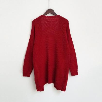 Red color Autumn Winter Long Sleeve..