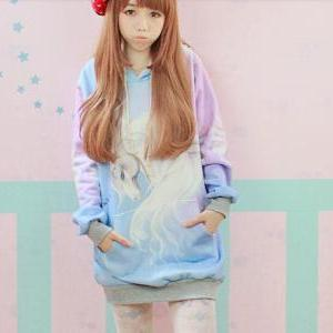 New Winter spring 2014 Harajuku Hoo..