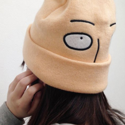 Harajuku style smile cartoon cap ha..