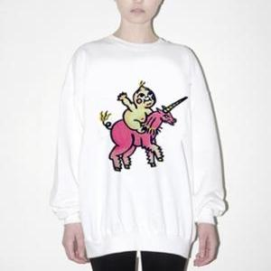 Harajuku Little Unicorn Sweatshirt ..