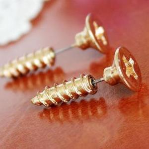 Unique Cute Screw Earrings