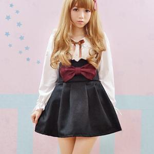 Super Cute Bow High Waist Suspender..