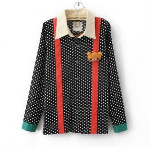 New Spring Autum Fall 2014 Polka Do..