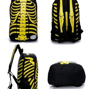 Unique X-Ray Red Backpack&Schoolbag