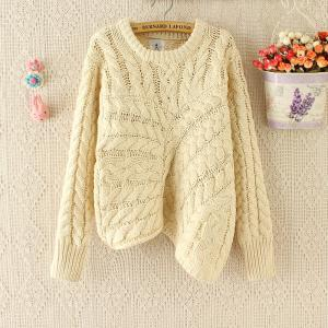 Irregular Pullover Sweater