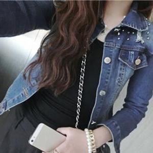 Slim Denim Jacket