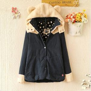 Cute Ear Berber Fleece Hoodies