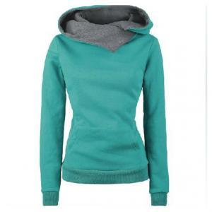 Stylish High Neck Long Sleeves Cott..