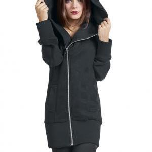 Women'S Leisure Front Zip Zippered ..