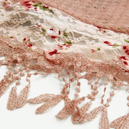 Fashion Elegant Scarf Lace Scarf