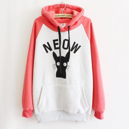 Hooded Fleece Sweater AD813DC