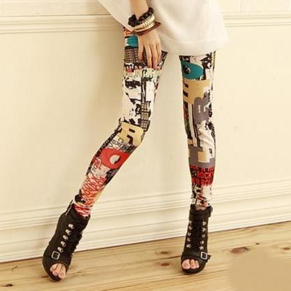 Sexy Adorable Printed Leggings