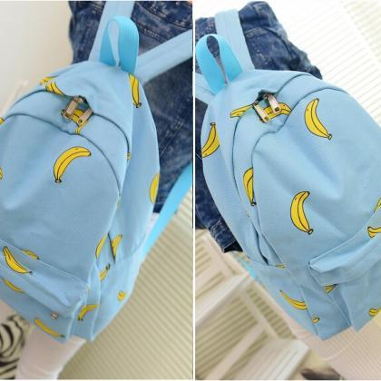 2015 new Cute Banana Print School G..