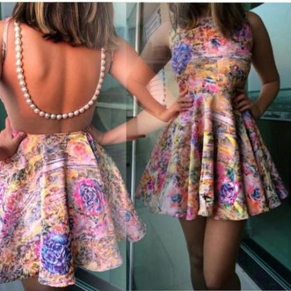 2015 New fashion summer Printed Bac..