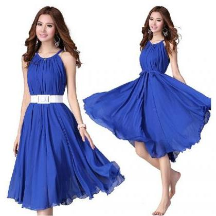 Royal Blue Short Evening Wedding Pa..