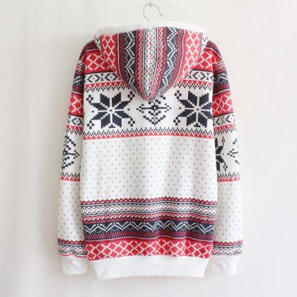 Christmas Snowflake Sweater Pullove..