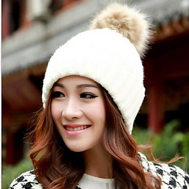 Women Candy Color Hat Edge Earmuffs..