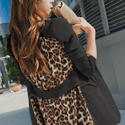 Cheap New Style Long Sleeves Patchw..