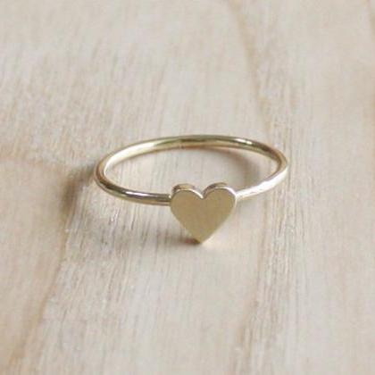 Tiny Heart Ring 7 Size In Gold Ever..