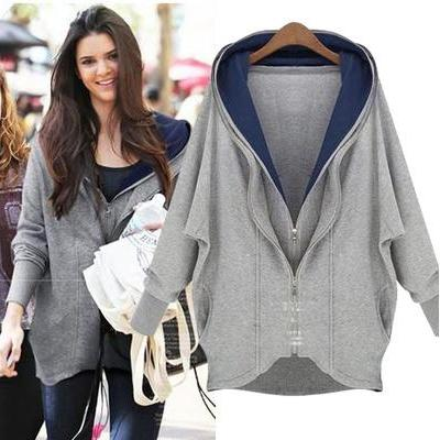 Women Fashion Long Sleeve Irregular..