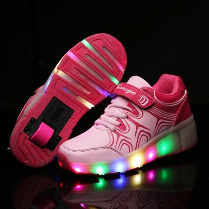 New fashion Children Shoes With Whe..
