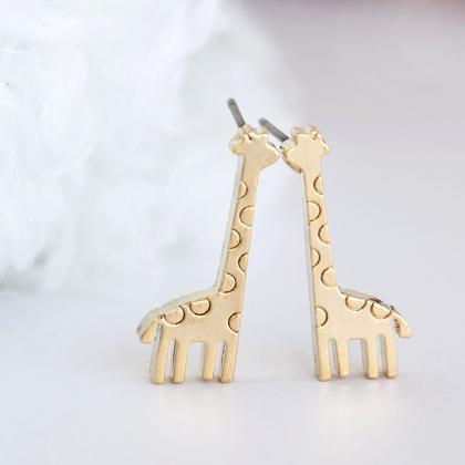 2016 New fashion Gold Baby Giraffe ..
