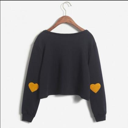 Women's Autumn Heart-shaped Long Sl..