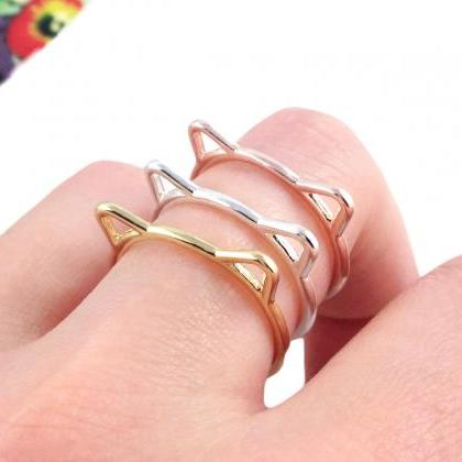 cute Cat Ear Ring