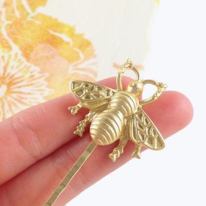 Bumble Bee Hair Pin