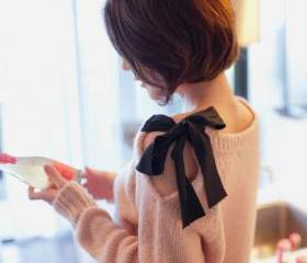 Cute BOWKNOT SWEATER