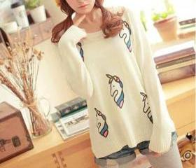 Cute Unicorn Sweater