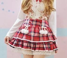 Cute Lolita Bow Lace..