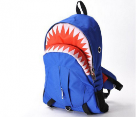 Blue Shark Backpack