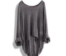 Batwing Casual Loose..