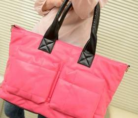 Fashion Pink Leather..