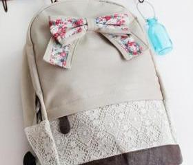 Griege Backpack with..