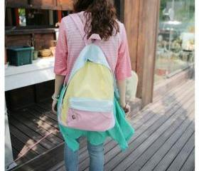 Backpack With Patchw..