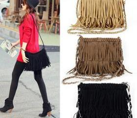 Fashion Tassel Handb..