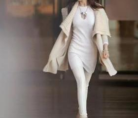 Loose Long Sweater S..