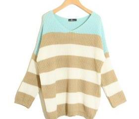 Striped Knitted Long..