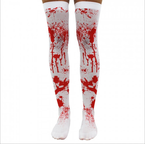 hollowen blood socks