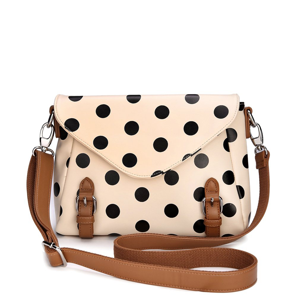 Retro Cute Polka Dot Messenger Bag Shoulder