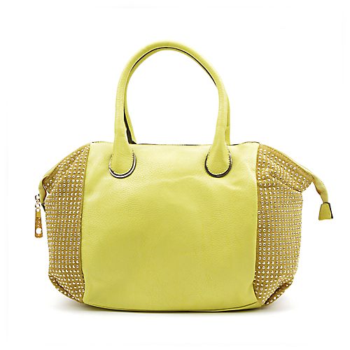 Yellow Leather Tote Hobo Handbag Shopper Tote Yellow Leather Handbag Mustard Purse Leather Purse
