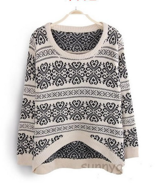 Pullover Vintage Style Sweaters
