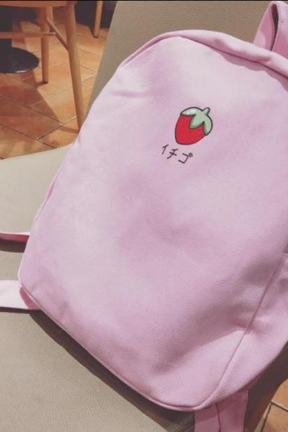 Ichigo Japanese strawberry backpack