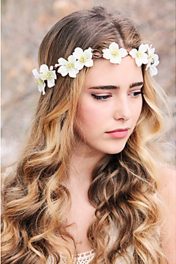 Women's Elegant Fabric Headband Headbands / Fascinators / forehead jewelry