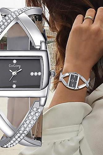 Women's Bracelet Watch,Wrist Watch,Diamond Watch,Quartz Leather watch