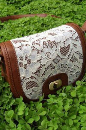 new fashion Cute Fashion Lace Cross Body Bag