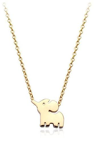 2016 sexy Korea cute little elephant pendant for women